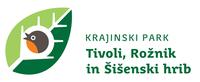 <p>  Krajinski park Tivoli, Rožnik in Šišenski hrib logo </p>