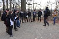 <p>  Vodenje študentov gozdarstva Biotehniške fakultete; Foto: Luka Šparl (Arhiv KP TRŠh) </p>