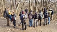 <p>  Vodenje študentov gozdarstva Biotehniške fakultete; Foto: Andrej Verlič (Arhiv KP TRŠh) </p>