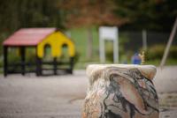 <p>  Pitnik na otroškem igrišču; Foto: Artinfoto.si </p>