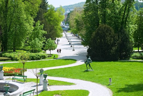 <p>  Plečnikova promenada, kulturni spomenik državnega pomena, je eno najpomembnejših Plečnikovih del. </p> <p>  Foto: Artinfoto.si </p>